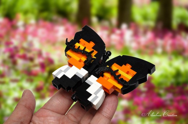 LEGO Butterfly Mimicry