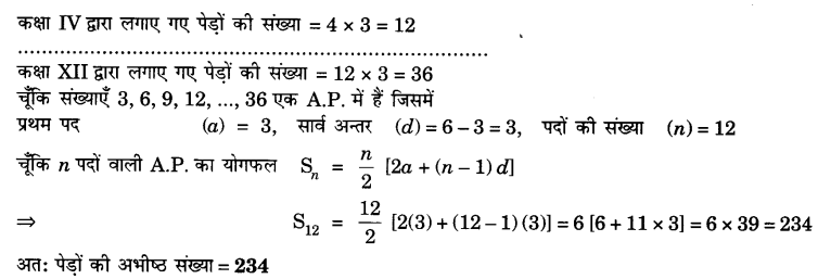 UP Board Solutions for Class 10 Maths Chapter 5 page 124 17.1