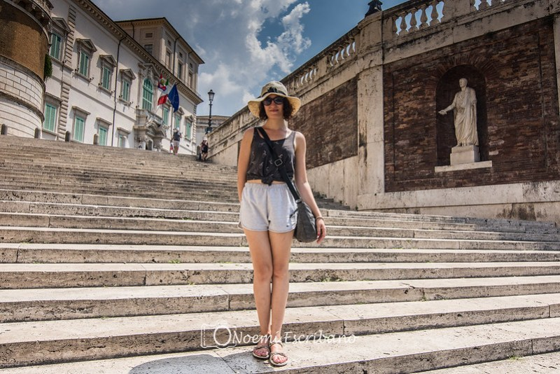 escalinata Fontana di Trevi