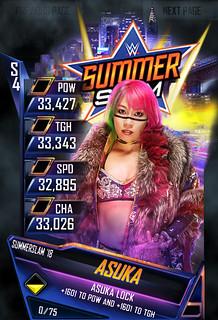 SummerSlam 18 Asuka