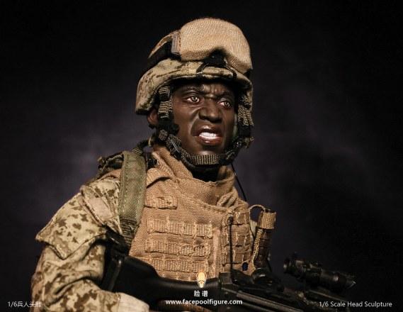 Facepool Figure USMC FP-A-005