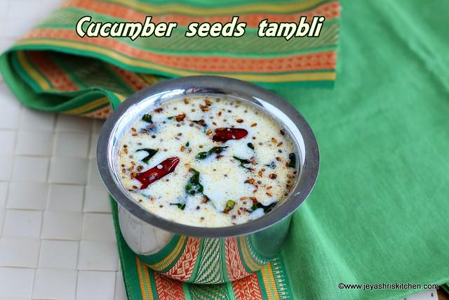 Cucumber seeds tambli