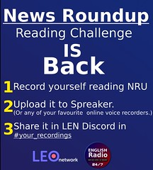 News Roundup Reading Challenge