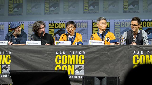 Christopher Sabat, Sean Schemmel, Akio Iyoku, Norihiro Hayashida, Translator
