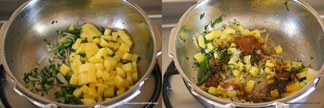 potato pulao 2