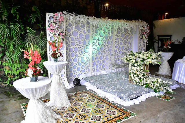 Wedding Couple's Table and Stage