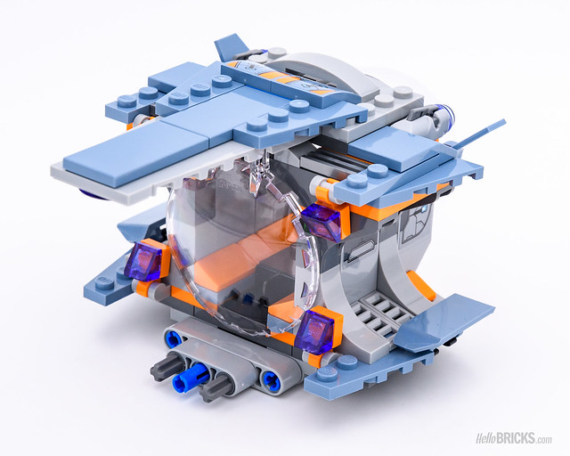 REVIEW LEGO Marvel 76102 Thor's Weapon Quest 7