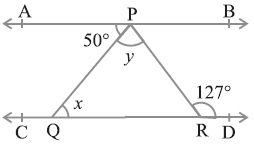 Class 9 NCERT Maths Lines and Angles Solutions Hindi Medium 6.2 5