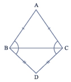 Class 9 NCERT Maths Triangles Solutions Hindi Medium 7.2 5