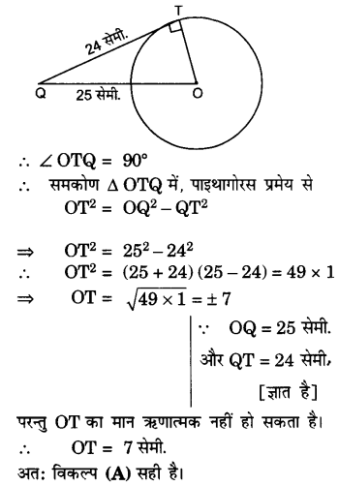 UP Board Solutions for Class 10 Maths Chapter 10 Circles page 236 1