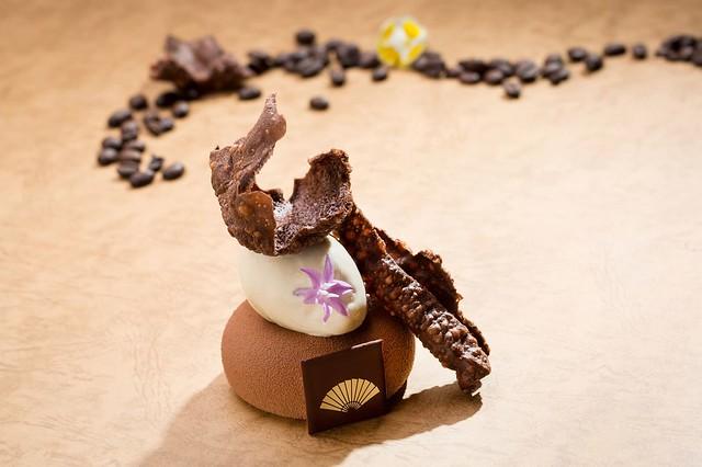 MOTPE - 馬斯卡邦奶油搭咖啡冰淇淋及可可豆珍珠