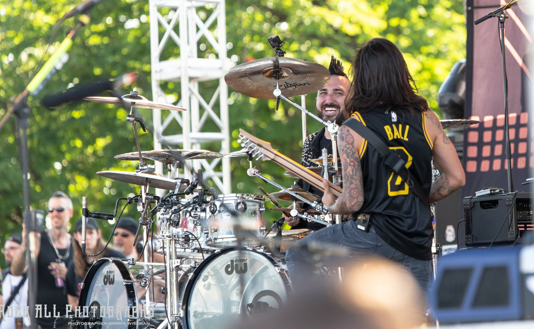 Of Mice and Men - Inkcarceration Festival Day 1 - Mansfield, OH - 7/13/18