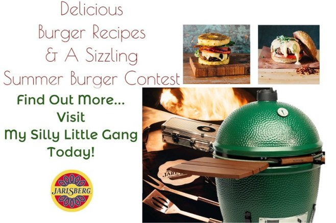 Delicious Burger Recipes & A Sizzling Summer Burger Contest