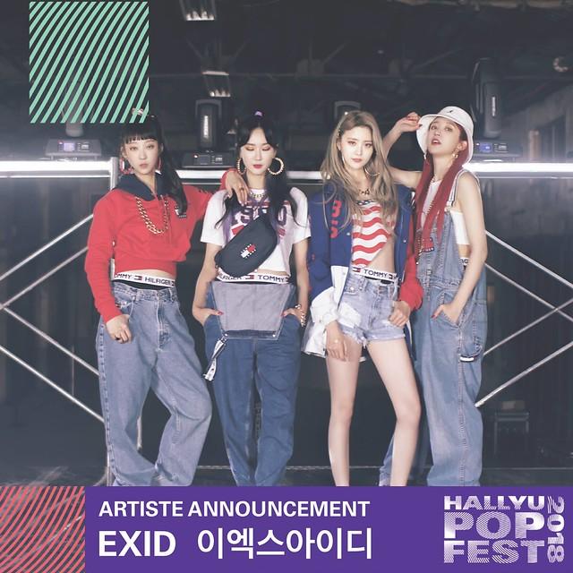 HallyuPopFest 2018 - EXID