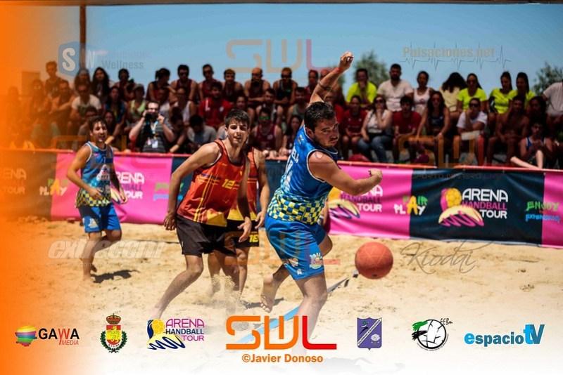 BALONMANO PLAYA ARENA500 2018 ALBURQUERQUE JORNADA DOMINGO 8-7-18