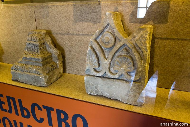 Белокаменные украшения, Музей Москвы