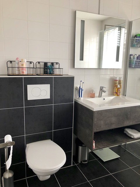 Badkamer strak landelijk