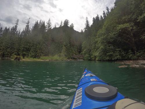 Kayaking on Baker Lake-122