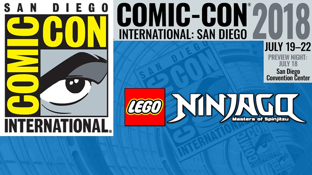 Ninjago at the SDCC - logo