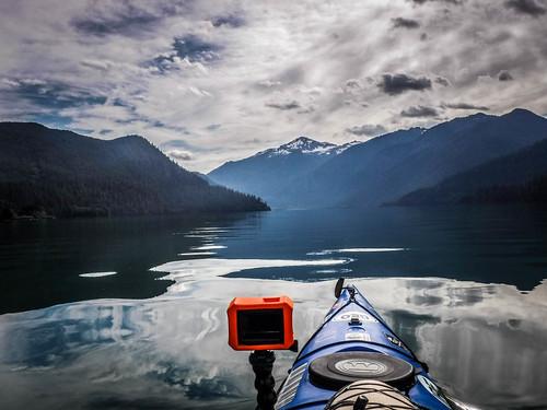 Kayaking on Baker Lake-55