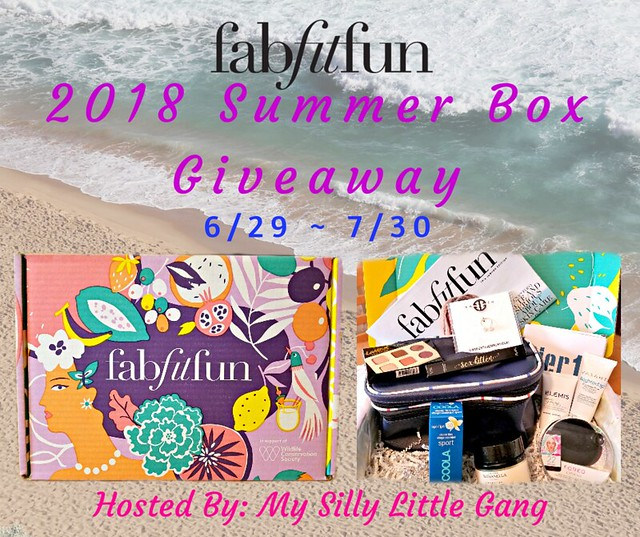 FabFitFun 2018 Summer Box Giveaway