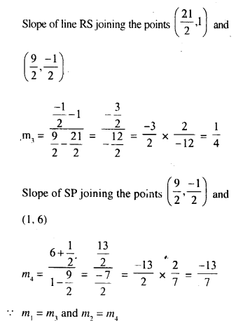 Selina Concise Mathematics Class 10 ICSE Solutions Chapter 14 Equation of a Line Ex 14B 10.3