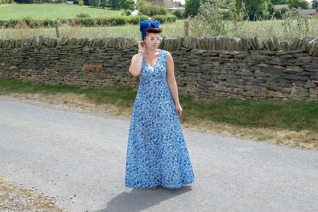 Vintage On Depop Maxi Dress Georgia