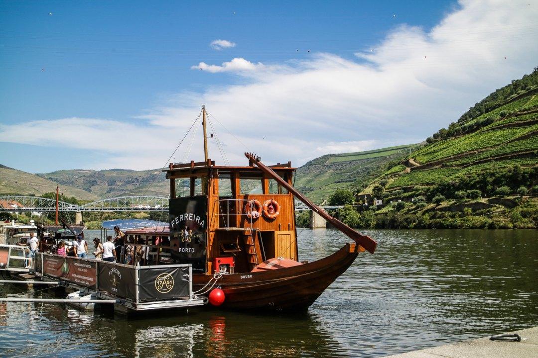 Barcos rabelo, Douro