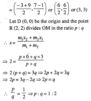 Selina Concise Mathematics Class 10 ICSE Solutions Chapter 13 Section and Mid-Point Formula Ex 13C 14