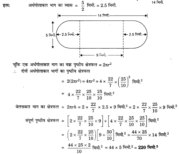 UP Board Solutions for Class 10 Maths Chapter 13 Surface Areas and Volumes page 268 6.1