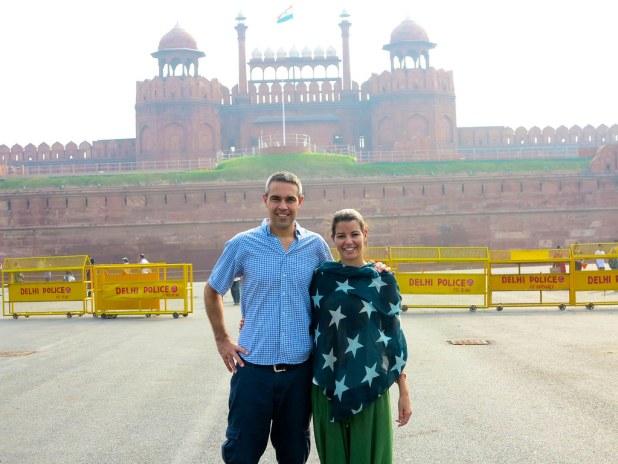 Fuerte Rojo de Nueva Delhi