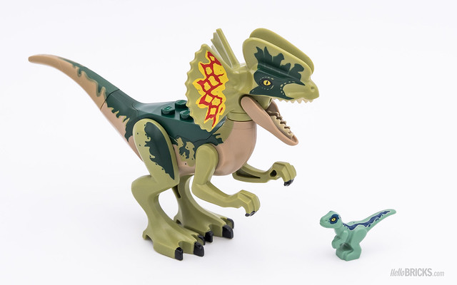 REVIEW LEGO 75931 Dilophosaurus Outpost Attack