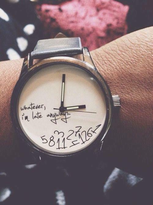 siempre estoy atrasado