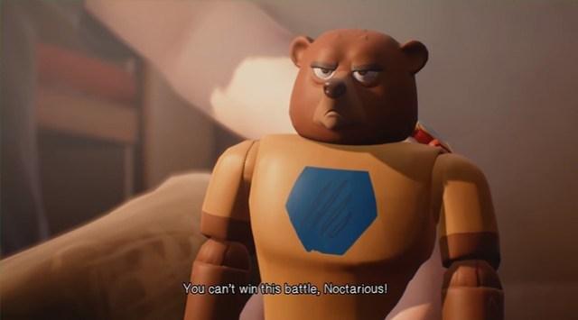 Приголомшливі пригоди капітанського духу - сильний ведмідь