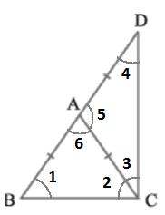 Class 9th Maths NCERT Triangles Solutions Hindi Medium 7.2 6.1