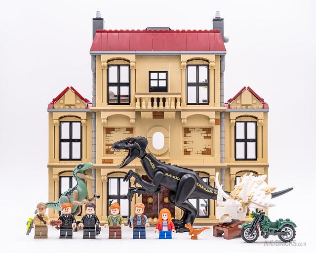 REVIEW LEGO 75930 Indoraptor Rampage at Lockwood Estate Jurassic World Fallen Kingdom