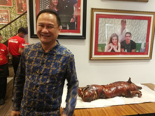 George Pua of Rico's Lechon