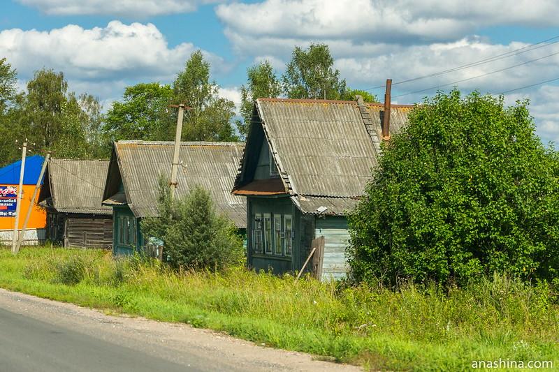 Придорожная деревня, Тверская область