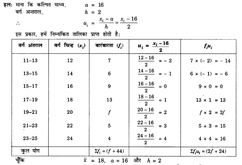 UP Board Solutions for Class 10 Maths Chapter 14 Statistics page 296 3.1