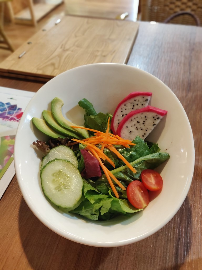 Vegan Salad Greenwoods Raw Cafe TST Hong Kong