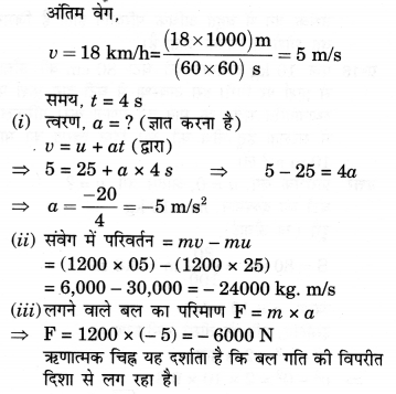 NCERT Solutions for Class 9 Science Chapter 9 (Hindi Medium) 16