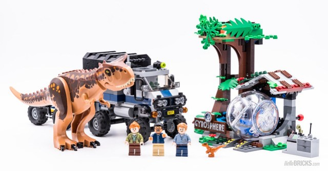 REVIEW LEGO 75929 Carnotaurus Gyrosphere Escape