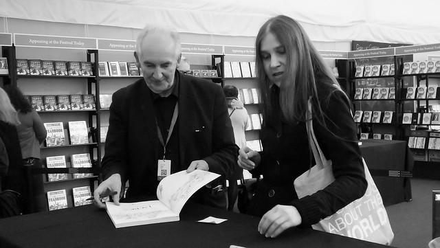 Edinburgh International Book Festival 2018 - Alan Lee 01