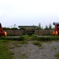 Nyholmen Skanse, canons