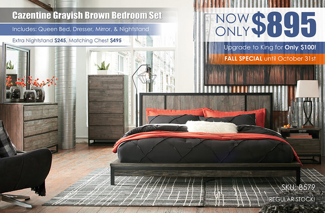 Cazentine Grayish Brown Bedroom Set_B579-31-36-46-58-56-91-Q348_RS_FallSpecial