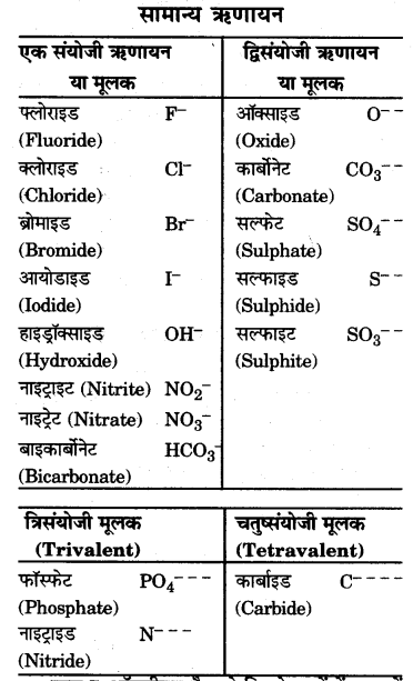 UP Board Solutions for Class 9 Science Chapter 3 Atoms and Molecules l 6.1