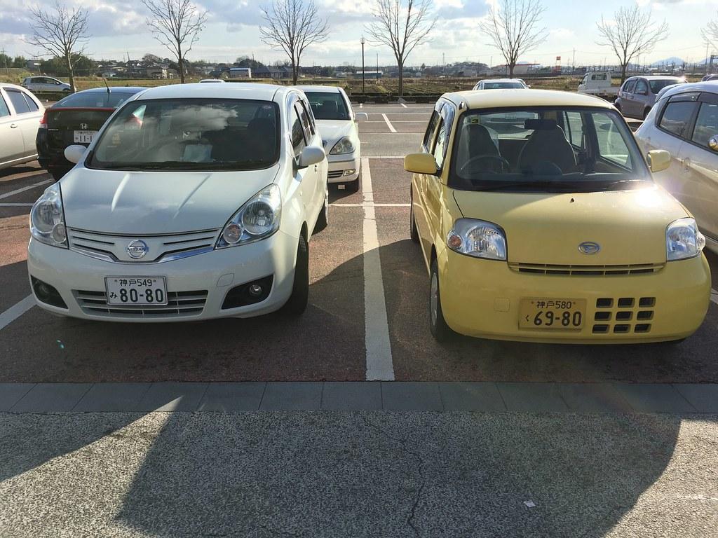 Twee klassen auto's