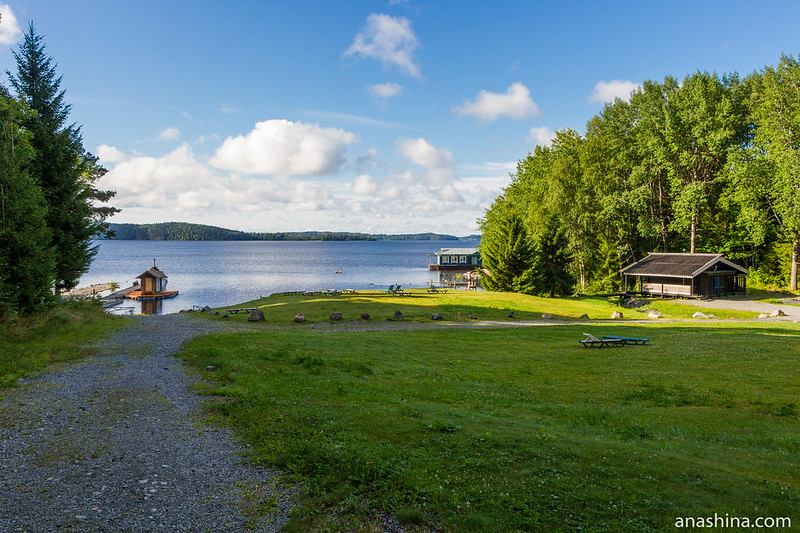 Панорама Ладожского озера
