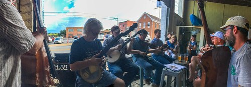French Broad Valley Musicians Association at Sanctuary Brewing-003