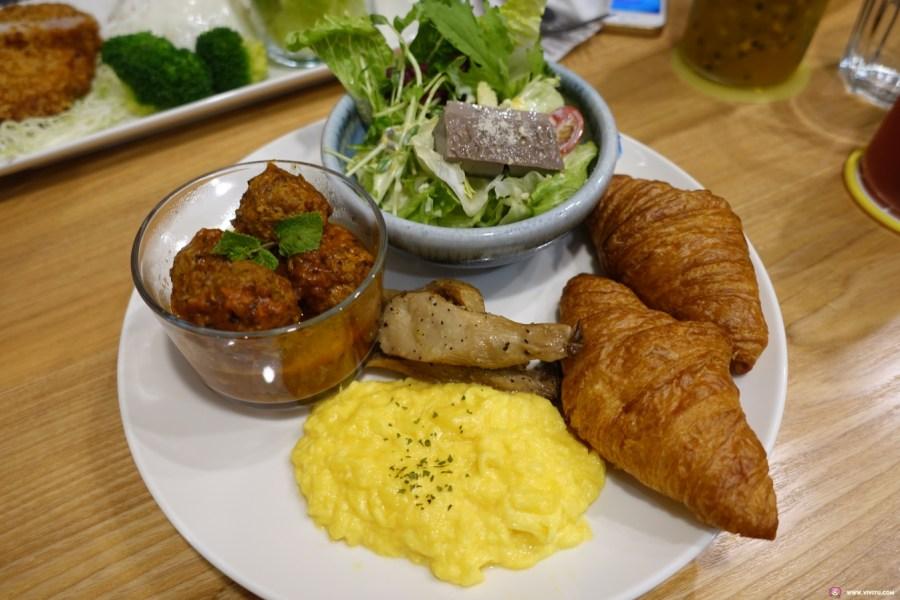 [桃園美食]COMEAN 空覓早午餐~藝文特區的同德國小附近的平價輕食早午餐.手工現點現作精緻餐點.免費WIFI @VIVIYU小世界